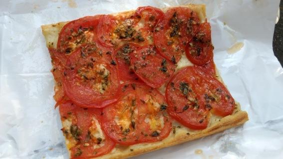 superdunne Ligurische pizza