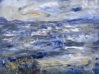 JACK BUTLER YEATS, Queen Maeve Walked Upon this strand